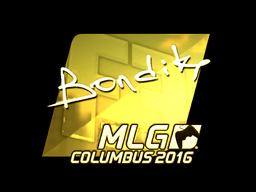 Sticker | bondik (Gold) | MLG Columbus 2016