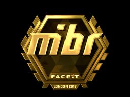 MIBR (Gold)   London 2018